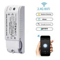 WiFi Smart Licht Dimmer Schalter Drahtloses Modul Tuya Smart Leben APP Spra Y5L2