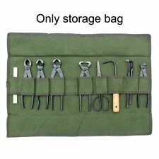 Multipocket Storage Pouch Gardening Tools Case Roll Type Spanner Organizer Bag