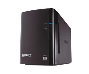 Buffalo DriveStation DUO USB 3.0 / 2.0 RAID 0/1JBOD Gehäuse für 2 SATA HDDs