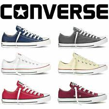 Unisex Converse All Star Chuck Taylor Nuevo Hombre Mujer bajo Suéter Zapatillas