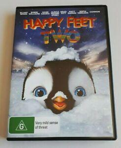 Happy Feet Two  Kids  PAL DVD R4 VGC