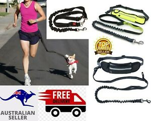 Adjustable Elastic Walk Running Dog Pet Waist Belt Hands free Jogging Leash