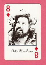 Artie MacLaren Vintage Canadian Country Music Playing Card