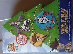 Disney Pixar Toy Story 4 Stick N' Play Advent Calendar 25 Ornament Stickers