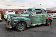 1946 Ford Coupe V8 - orig. 60's Hot Rod, California Patina, ! Nur 6% Zoll