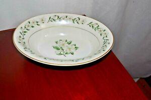 """Princess China Bridal Wreath Set of 4 Soup Salad Bowls Magnolia 8"""" NICE !!"""