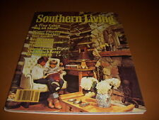 Southern Living Magazine, January, 1981, Small Log Cabins, Recipes, Decorating!