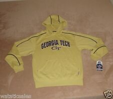 Georgia Tech Yellow Jackets Men's XL Hooded Sweatshirt New College Hoodie