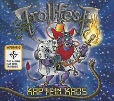 Trollfest - Kaptein Kaos CD+DVD 2014 limited digipack folk metal NoiseArt