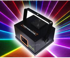 Mini 410mW RGB Full Color ILDA DMX DJ Party Amimation stage Laser --djslighting
