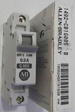ALLEN BRADLEY 1492-CB1G005 1492-CB1 G005 CIRCUIT BREAKER 1 POLE  0.5 AMP
