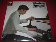 DMITRIS SGOUROS - BRAHMS SCHUMANN -  SEALED LP