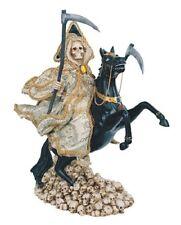 13 Inch Santa Muerte Statue Holy Death Grim Reaper Money Dinero Santisima Horse