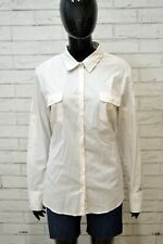 TOMMY HILFIGER XL Camicia a Righe Donna Maglia Shirt Women's Casual Camicetta