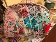 Vera Bradley Beach Cosmetic Bag in Sea Life