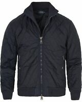 Polo Ralph Lauren Men's Radar Quilted Bomber Jacket Mill Navy Size Large L D2