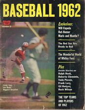 1962 Whitestone Baseball 1962 magazine, Joey Jay, Cincinnati Reds ~ Poor