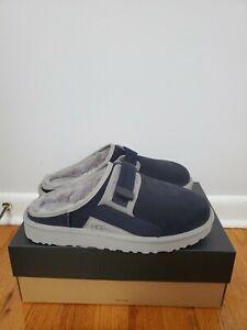 UGG Men's Dune Slip-on Mule slippers  True Navy / gray size 11