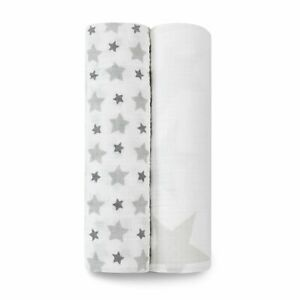 aden + anais twinkle classic 2-pack muslin swaddles