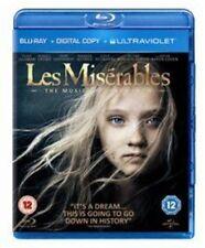 Les Miserables (bluray Digital Copy UV Copy) 2012 DVD