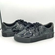 Adidas Sambarose Patent Black Leather CG6618 - Women's Size 7.5