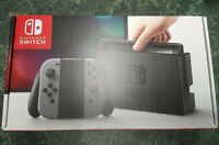 Nintendo Switch - 32GB Gray Console & JoyCon FREE SHIPPING ANYWHERE in Canada
