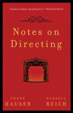 Notes on Directing: 130 Lessons in Leadership from the Director's Chair (Paperba