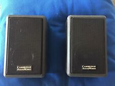 (2) Cambridge Soundworks Ensemble III Satellite Speakers - Used