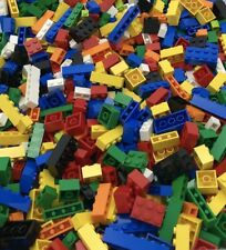 LEGO 100 NEW ASSORTED BRICKS BUILDING BLOCKS MIXED 1x2 1x4 1x6 2x2 2x3 2x4 MORE