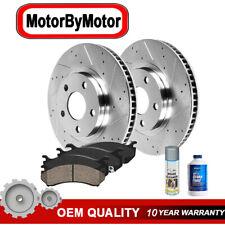 REAR. Drill Brake Rotors + Ceramic Pads for 2003 - 2016 2017 Nissan Murano Quest