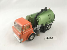 DINKY #451 FORD D800 JOHNSTON ROADSWEEPER TRUCK LORRY DIECAST 1971 PLAYWORN