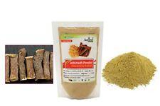 Jethimadh (Glycyrrhiza Glabra) Mulethi Herbal Churna, Organic & Pure & Natural