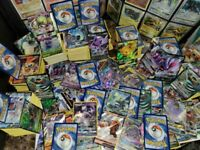 Pokemon Cards - Binder Tin Booster Collection Variety Bundle Lot w Rares + Holos