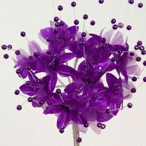Artificial BABYS BREATH Gypsophila Flower Pearl Sprays Crafts