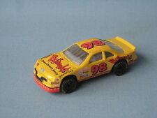 Matchbox Nascar Ford Thunderbird Bojangles Yellow Nascar Toy Model Car