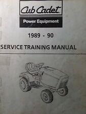 Cub Cadet Ccc Mtd 1989 1990 Garden Tractor Amp Rer Service Repair Training Manual