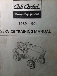 Cub Cadet CCC MTD 1989-1990 Garden Tractor & RER Service Repair Training Manual