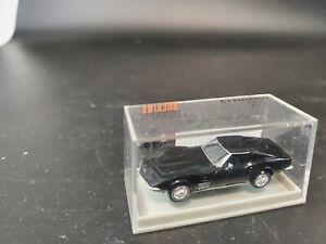 Brekina 1/87 Corvette  C-3 C3 Black 19963