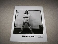 Vintage Andrew W.K. Promotional Publicity Photo Island Def Jam Records