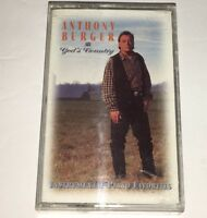 Anthony Burger God's Country Gospel Piano Cassette 1B