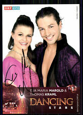 Eva Maria Marold & Thomas Kraml Autogrammkarte Original Signiert ## BC 10595