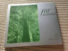 FOR AGAINST IN THE MARSHES CD MINI ALBUM 8 TRACK REMASTERED DARK WAVE INDIE POP