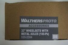 """Proto {920-2304} 33"""" conjuntos de rueda de metal - 100 Tapas-yankeedabbler"""