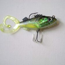 """PACK OF x 3 FOR REAL TWIN TAIL PERCH - 4"""""""