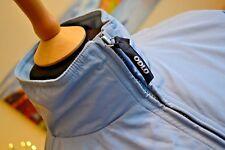 "ODLO Womens Ski Jacket Coat Retro Vintage Lightweight Light Blue Sz L 46"" Chest"
