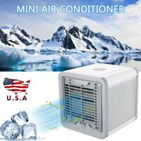 Portable Mini USB Air Conditioner Cooler Summer Artic Cooling Fan LED Humidifier