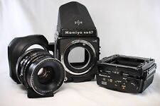 Very good++ Mamiya RB67 Pro S Professional SEKOR C 90mm F3.8 Lens 6x8 Film Back