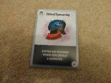 Spell Smashers Board Game: Helm of Sponsorship promo card (2019 Tantrum House)