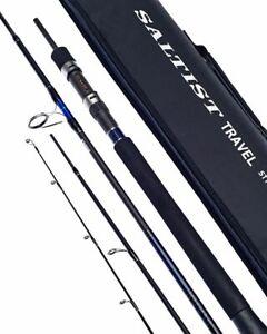 "Daiwa Saltist Travel 6'5"" 28-84g 4pc / Travel Fishing Spinning Rod"