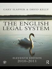 English Legal System Bundle: The English Legal System: 2010-2011